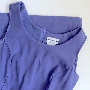 Vintage Amoretti Purple Dress